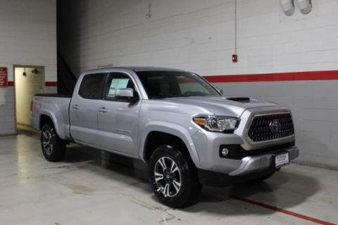 New 2018 Toyota Tacoma V6 TRD Sport Double Cab Long Bed 4X4