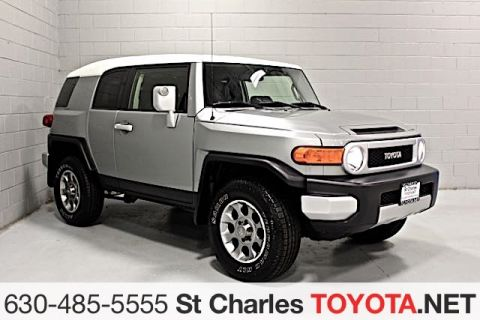 Certified Pre-Owned 2012 Toyota FJ Cruiser 4WD