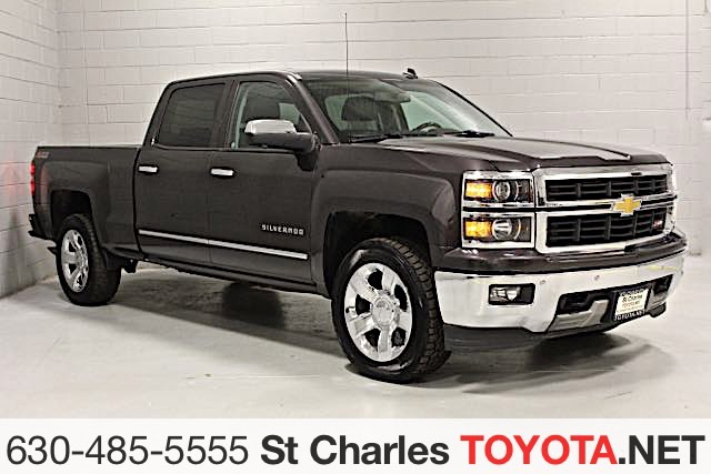 Pre Owned 2014 Chevrolet Silverado Ltz Z71 Truck In Saint Charles