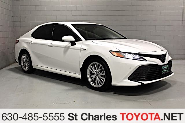 Certified Pre Owned 2018 Toyota Camry Hybrid Xle