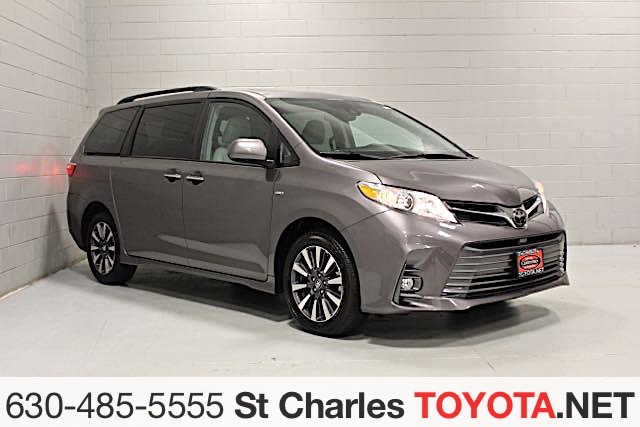 Certified Pre Owned 2018 Toyota Sienna Xle Awd
