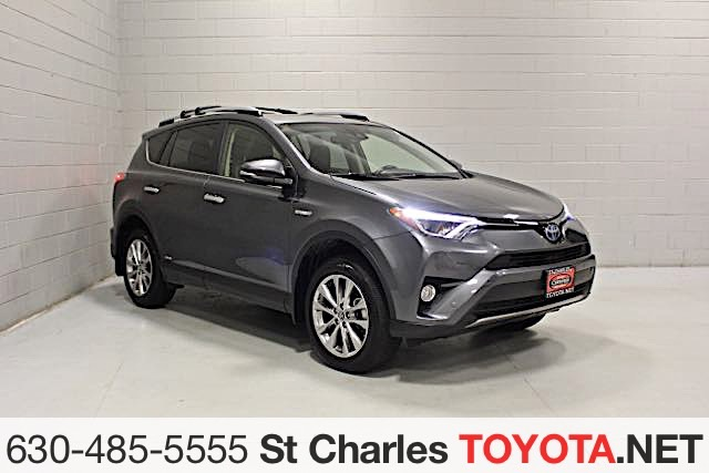 Certified Pre Owned 2017 Toyota Rav4 Hybrid Limited Awd