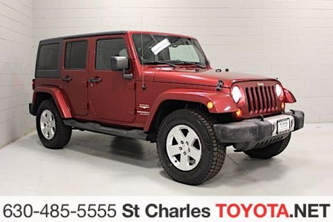 Pre-Owned 2012 Jeep Wrangler Unlimited Sahara Utility 4d