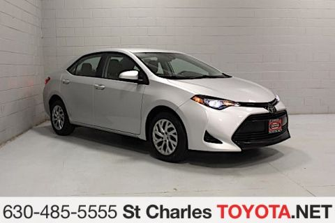 Certified Pre Owned 2017 Toyota Corolla Le Sedan In Saint Charles 8922 689 St