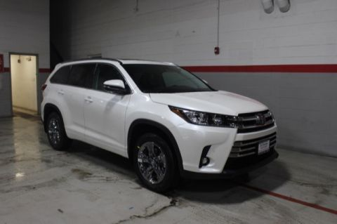 New 2019 Toyota Highlander V6 LIMITED PLT AWD