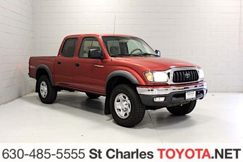 Pre-Owned 2004 Toyota Tacoma Double cab prerunner pickup 4d 5ft